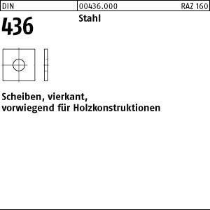 Scheiben DIN 436 Stahl 11