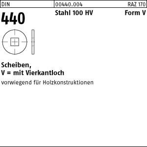 Scheiben DIN 440 Stahl V 6,6