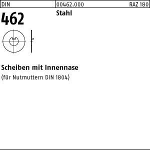 Scheiben DIN 462 Stahl 8