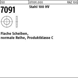 Scheiben ISO 7091 Stahl 5
