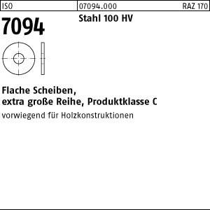 Scheiben ISO 7094 Stahl 5