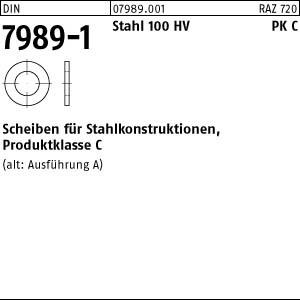Scheiben DIN 7989 -1 Stahl 14 Pk C ÜH 13,5 x 24 x 8