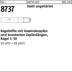 Kegelstifte ISO 8737 9S20K 5 x 40 25 Stk.
