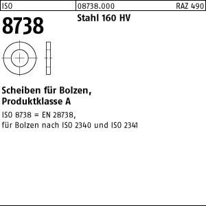 Scheiben ISO 8738 Stahl 3