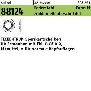 TECKENTRUP-Sperrkants. ART 88124 TECKENTRUP-Sperrkantscheiben C 60 flZnnc SKM 4 flZn