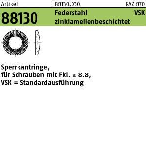 Sperrkantringe VSK ART 88130 Sperrkantringe FSt. VSK 4 flZnnc flZnnc