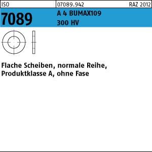 Scheiben ISO 7089 A 4 BUMAX109 300HV 5 ( 5,3 x 10 x 1,5) A 4-109