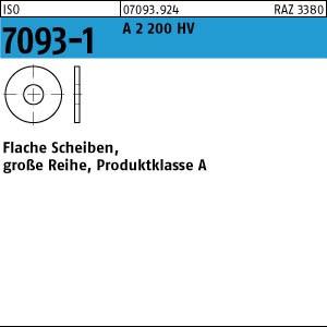 Scheiben ISO 7093 -1 A 2 200 HV 3 A 2