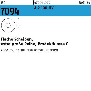 Scheiben ISO 7094 A 2 5 A 2