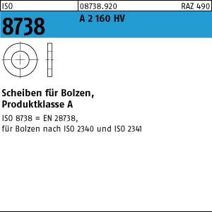 Scheiben ISO 8738 A 2 20