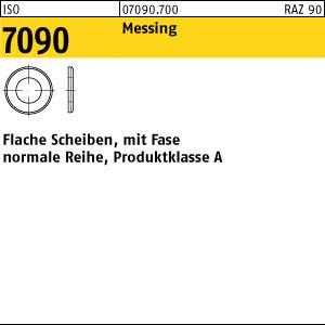 Scheiben ISO 7090 Messing 10 (10,5 x 20 x 2 ) Ms