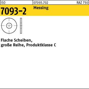 Scheiben ISO 7093 -2 Messing 3 Ms