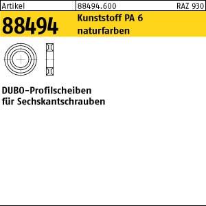 DUBO-Profilscheiben ART 88494 DUBO-Profil-Scheiben 198 f. Sk.-Schrauben M 3