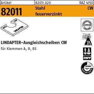 LINDAPTER-Ausgleichs. ART 82011 LINDAPTER St. CW M 12 feuerverzinkt