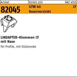 LINDAPTER CF ART 82045 LINDAPTER CF Sphäro-Guß M 12 feuerverzinkt