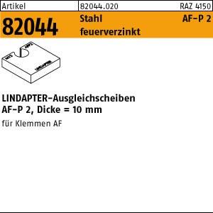 LINDAPTER-Ausgleichs. ART 82044 LINDAPTER St. AF M 12 P2 Scheiben, feuerverzinkt