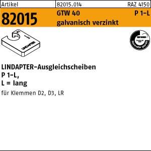 LINDAPTER-Ausgleichs. ART 82015 LINDAPTER St. P1 M 10 galv. verzinkt, lang