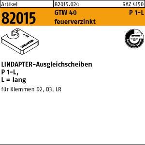 LINDAPTER-Ausgleichs. ART 82015 LINDAPTER St. P1 M 10 feuerverzinkt, lang