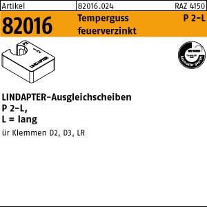 LINDAPTER-Ausgleichs. ART 82016 LINDAPTER St. P2 M 10 feuerverzinkt, lang