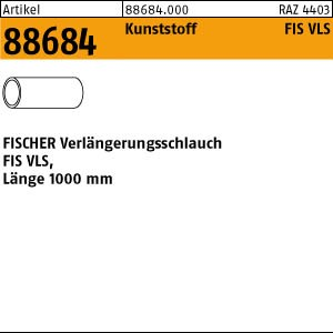 FISCHER-FIS-VLS ART 88684 FISCHER-FIS-Verlängerungs- schlauch