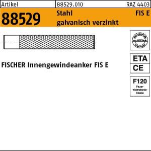FISCHER-Innengew.anker ART 88529 FISCHER-Innengewindeanker FIS E 11 x 85 x M 6 gal Zn