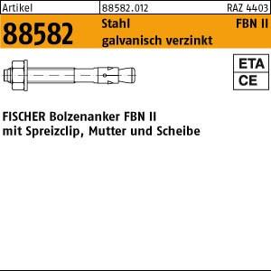 FISCHER-Bolzen ART 88582 FISCHER-Bolzen gal Zn FBN II 6/ 5