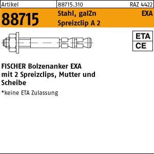 Expressanker ART 88715 Express-Anker Stahl gvz EXA 6/ 05 ( 6x 50)