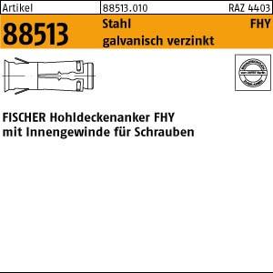 FISCHER-Hohlde.-Anker ART 88513 FISCHER-Hohldecken-Anker FHY M 6 St. verzinkt