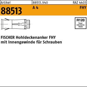 FISCHER-Hohlde.-Anker ART 88513 FISCHER-Hohldecken-Anker FHY A 4 M 6
