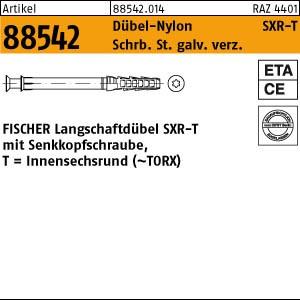 FISCHER-Rahmendübel ART 88542 FISCHER-Rahmendübel SXR 10 x 80 T