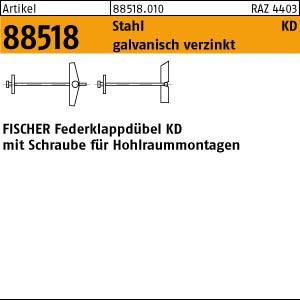 FISCHER-Klappdübel ART 88518 FISCHER-Klappdübel KD 3 50 Stk.