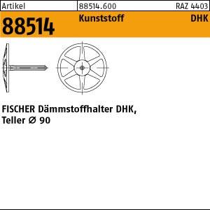FISCHER-Dämmstoffhalt. ART 88514 FISCHER-Dämmstoffha. DHK 40 250 Stk.