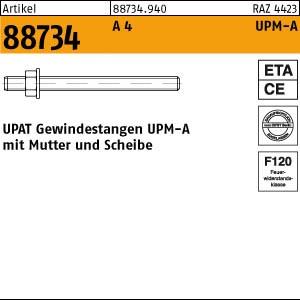UPAT-Ankerstangen ART 88734 UPAT Ankerstangen UPM-A A 4 M 10 x 110 20 Stk.