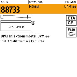 UPAT Verbundmörtel ART 88733 UPAT Verbundmörtel UPM 44-360 je 360ml, 1 Stk.=1 Kart.+2 M. 6 Stk.