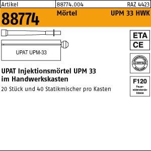 UPAT Injektionsmörtel ART 88774 UPAT Injektionsmör. UPM 33-360 im Handwerkerkasten 1 Stk.