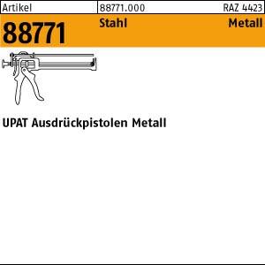 UPAT UPM Ausdrückpist. ART 88771 UPAT UPM Ausdrückpist. Metall 1 Stk.