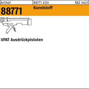UPAT UPM Ausdrückpist. ART 88771 UPAT UPM Ausdrückpistole 1 Stk.