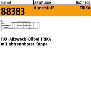 TOX-ALlzweck-Dübel ART 88383 TOX - Dübel TRIKA 5 x 32 Kunststoff 100 Stk.
